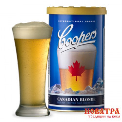 Пивная смесь Coopers Canadian Blonde 1,7 кг на 23 л. пива 1